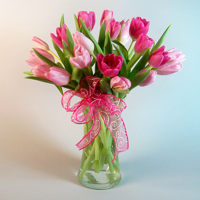 pretty and pink – morning glory flower shop
