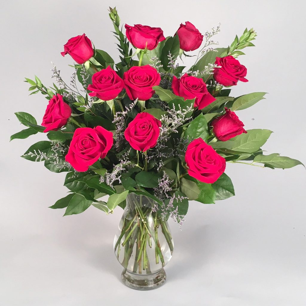 Valentine's Day Roses red