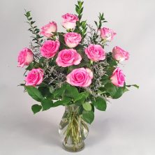 Valentine's Day Roses pink